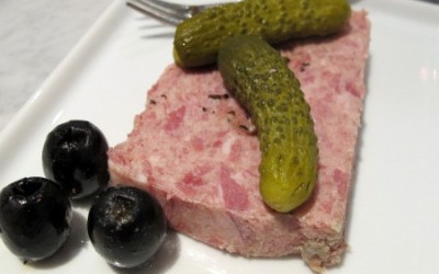 Country Pate slice
