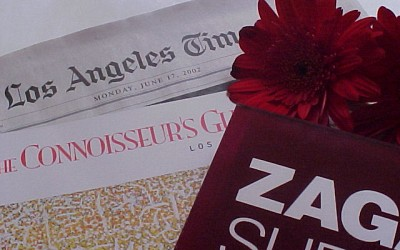 Los Angeles Times, Connoiseur's Guide, Zagat